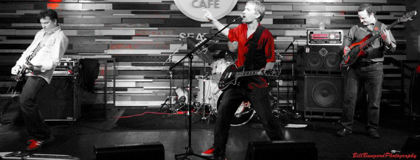 Chris Klimecky Band Live at The Hard Rock Cafe, photo by Bill Bungard